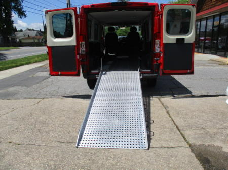 ALUMINIUM RAMP / EASY TO OPEN