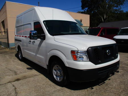 2018 NISSAN NV2500 HIGH ROOF CARGO VAN