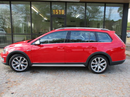 RED WITH BLACK LEATHER INTERIOR. NAVIGATION, BACK-UP CAMERA,HEATED SEATS